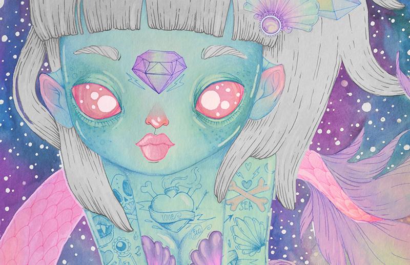 Mermaid by l0ll3 (dettaglio)